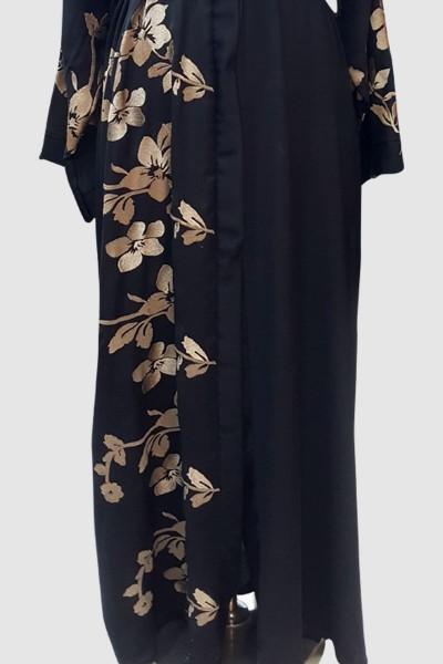 Sophisticated Embroidery Abaya