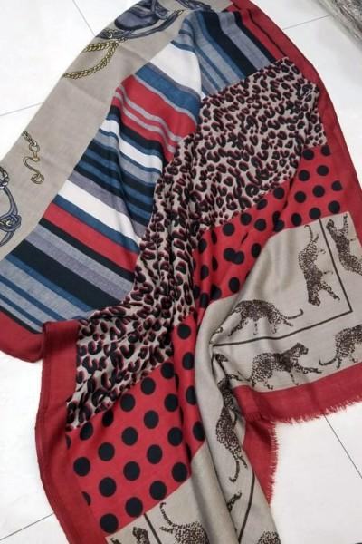 Stylish Print Hijabs (Dozen Set)