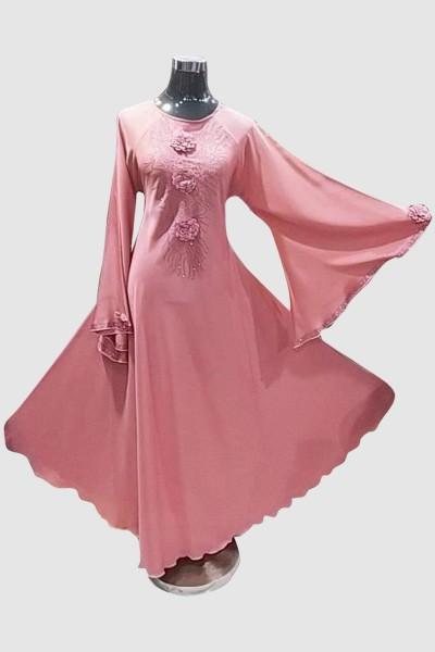 Flower Umbrella Abaya