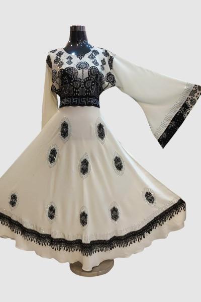 Fashionable Lace Abaya
