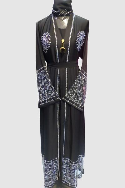 Crystal Open Abaya
