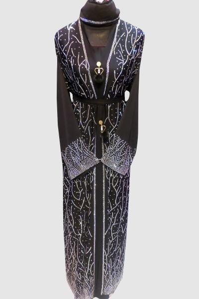 Arabian Crystal Abaya