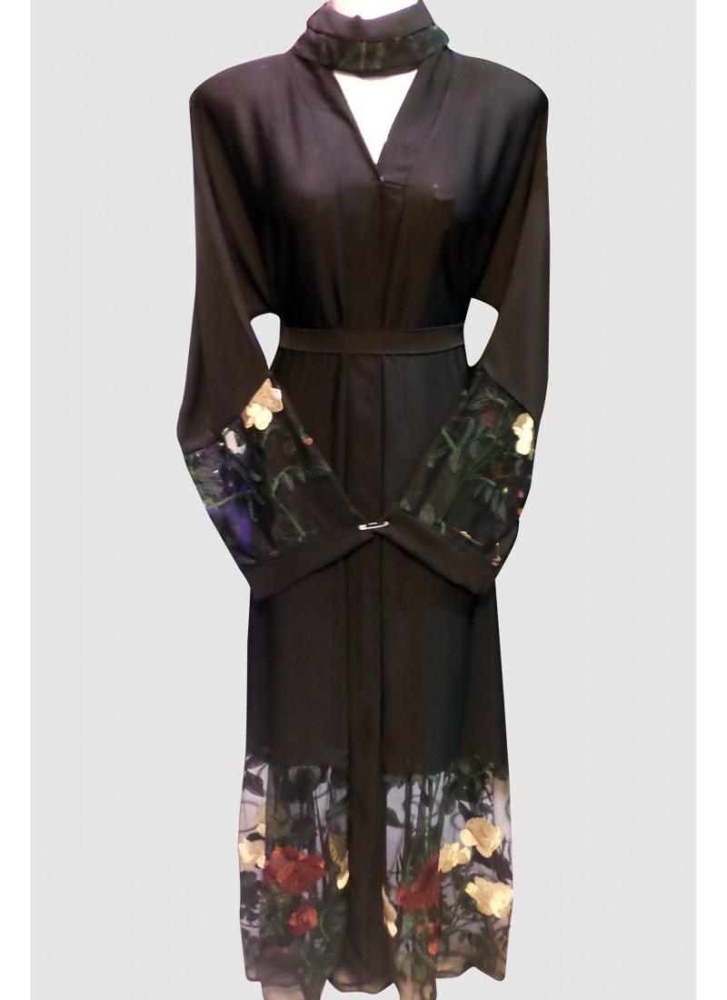 Floral Designer Abaya