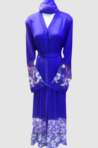 Modest Floral Designer Abaya