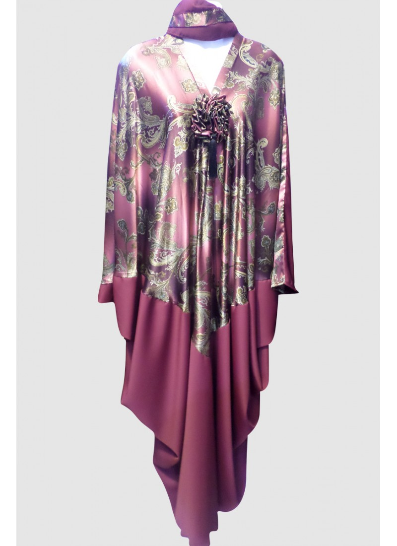 Butterfly Printed Abaya