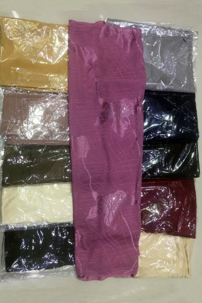 Fancy Designer Hijabs (Dozen Set)