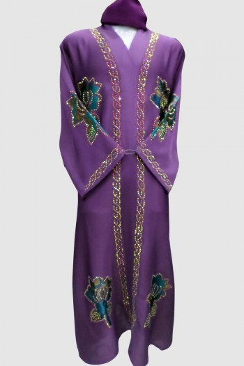 Sophisticate Abaya (12 Pieces Set)