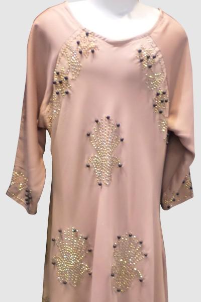 Umbrella Cut Abaya (6 Pieces Set)