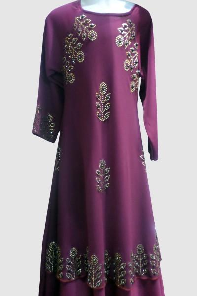 Designer Abaya (6 Pieces Set)