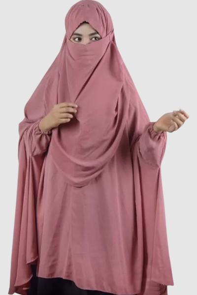 Hijab Prayer Khimar (6 Pieces Set)
