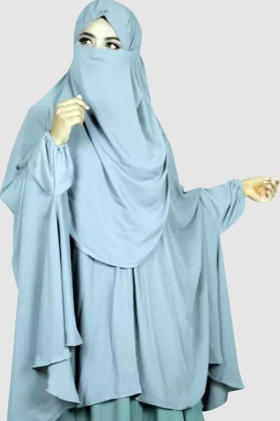 Islamic Prayer Khimar (6 Pieces Set)