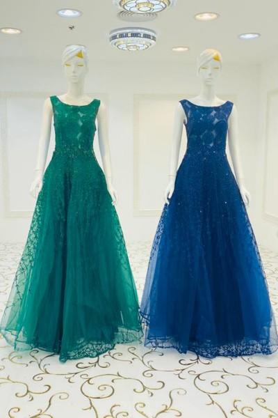 Saloni Designer Gown (3 Pieces Set)