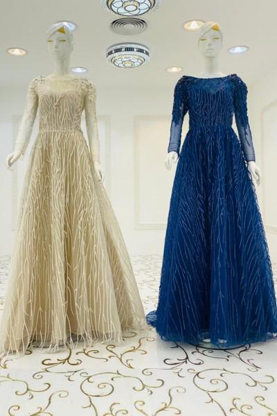 Fashion Cocktail Gown (3 Pieces Set)