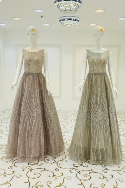 Classy Party Gown (3 Pieces Set)