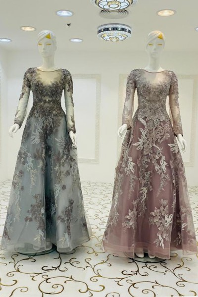 Charming Gown (3 Pieces Set)