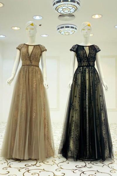 Floor Length Gown (3 Pieces Set)