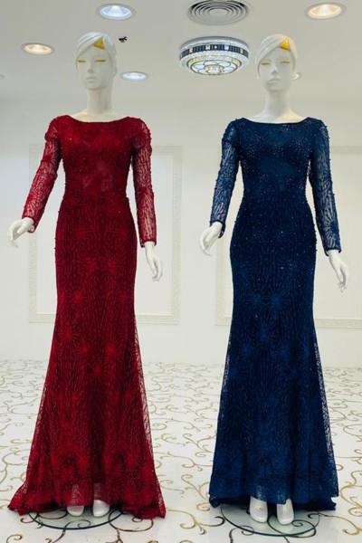 Amira Party Gown (3 Pieces Set)