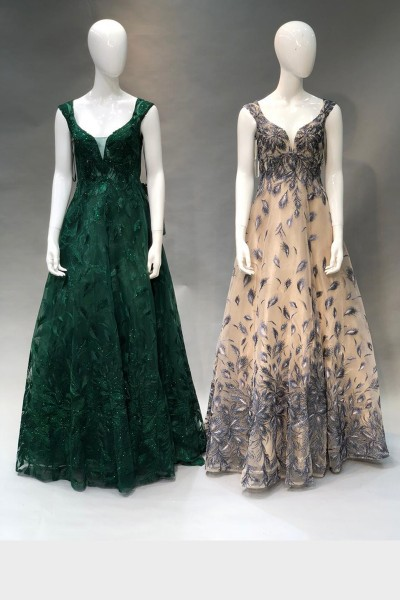 Pretty Party Gown (3 Pieces Set)