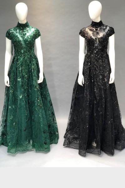 Princess Party Gown (3 Pieces Set)