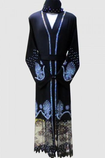 Stunning Abaya (12 Pieces Set)