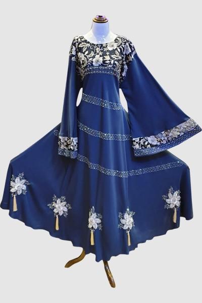 Embellished Abaya (6 Pieces Set)