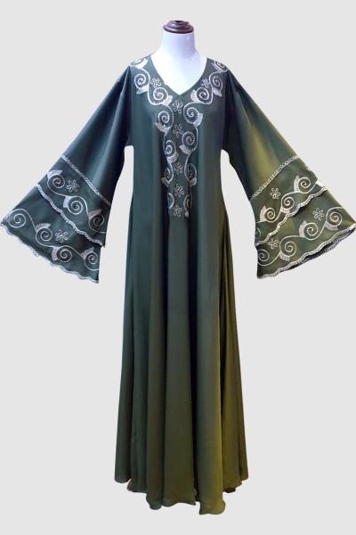 Arabian Close Abaya (6 Pieces Set)