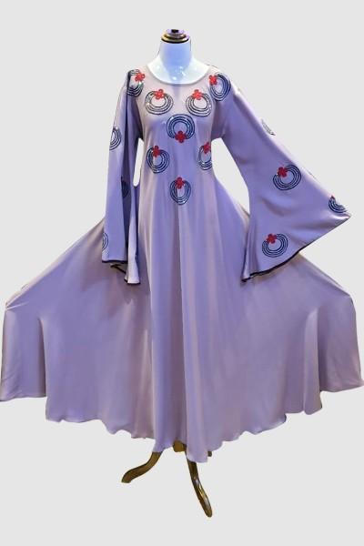 Elegant Abaya (6 Pieces Set)
