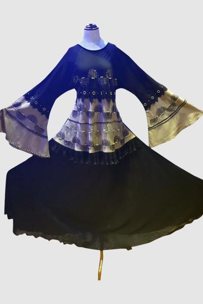 Sophisticated Abaya (6 Pieces Set)