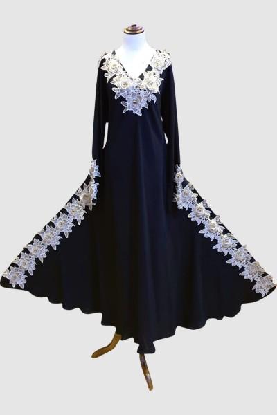 Latest Burqa Design (6 Pieces Set)
