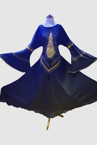Princess Cut Abaya (6 Pieces Set)