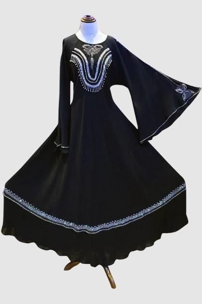 Emerald Abaya (6 Pieces Set)