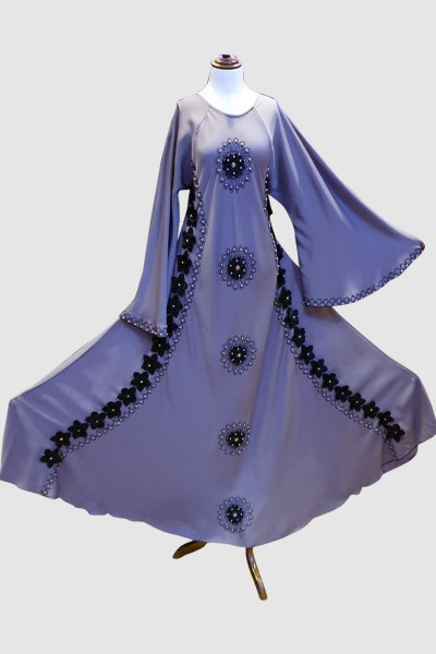 Classic Cuts Abaya (6 Pieces Set)