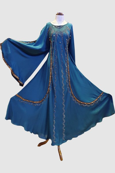 Vogue Fancy Abaya (6 Pieces Set)