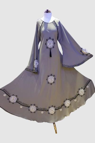Beauty Stone Abaya (6 Pieces Set)