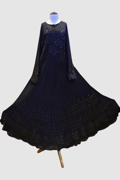 Chic Stylish Abaya (6 Pieces Set)