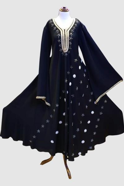 Attractive Abaya (6 Pieces Set)
