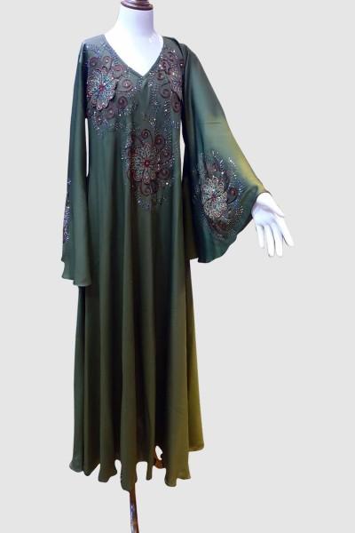 Vintage Abaya (6 Pieces Set)