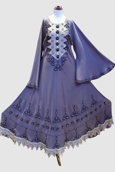 Modest Abaya (6 Pieces Set)