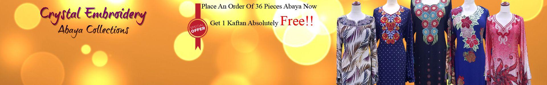 Designer Gulf Abaya Usd $ 24.65