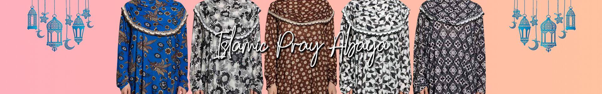 Islamic Pray Abaya Usd $ 7.99