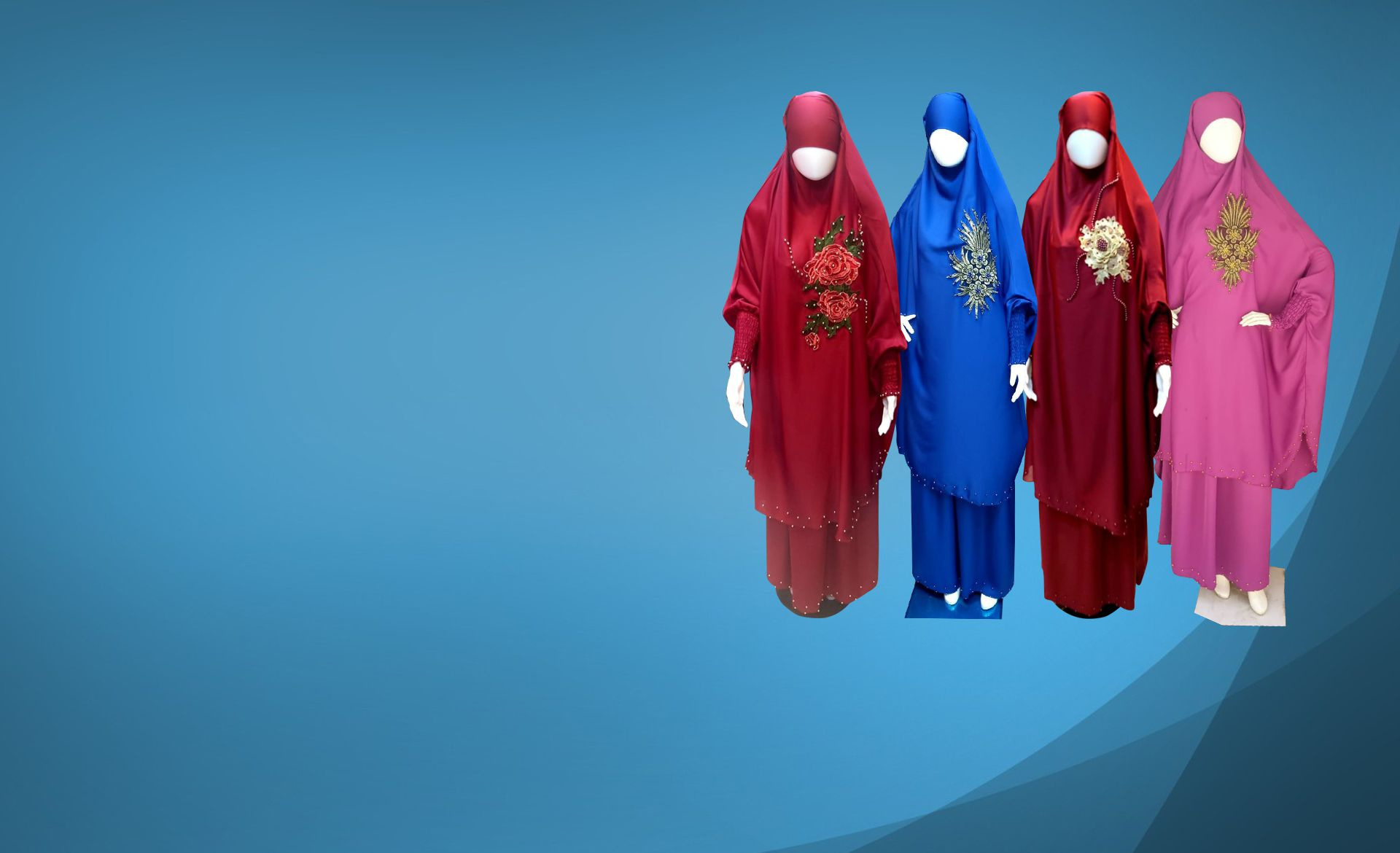 ~ Islamic Pray Abaya ~