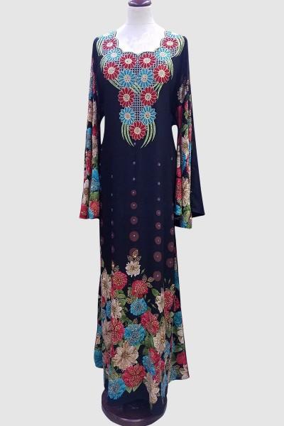 Designer Fancy Crystal Abaya