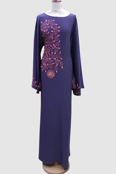 Stylish Embroidery Work Abaya
