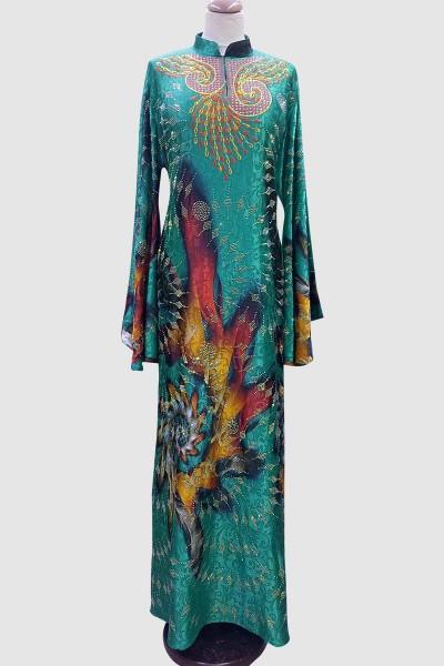 A'ida Modest Printed Abaya