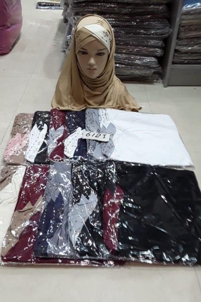 Beautiful Diamond Beads Hijabs