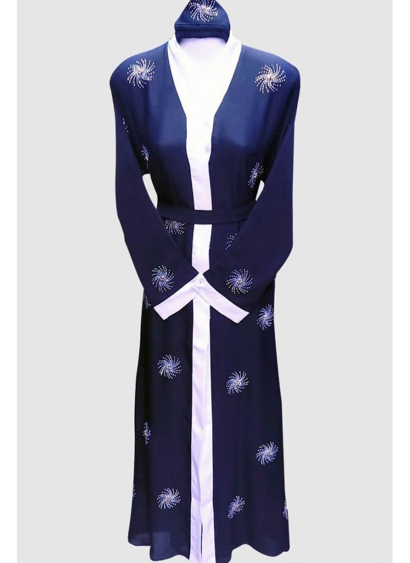 Open Kimono Fancy Abaya