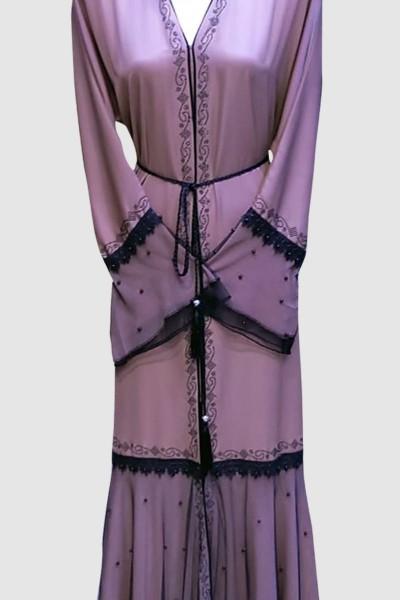 2020 Fashion Beautiful Open Abaya