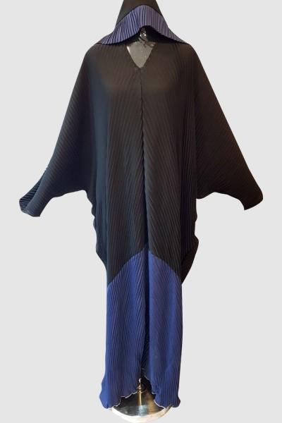 Anoosh Pleated Nida Abaya