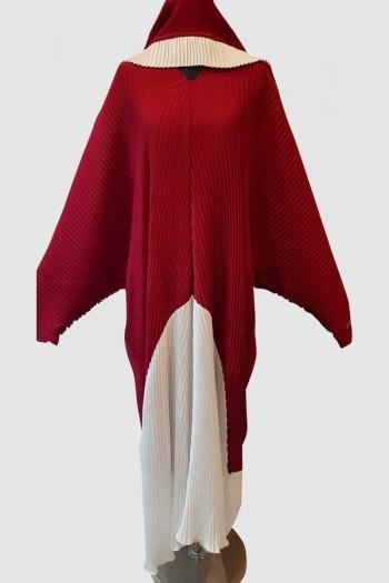 Designer Pleated Abaya