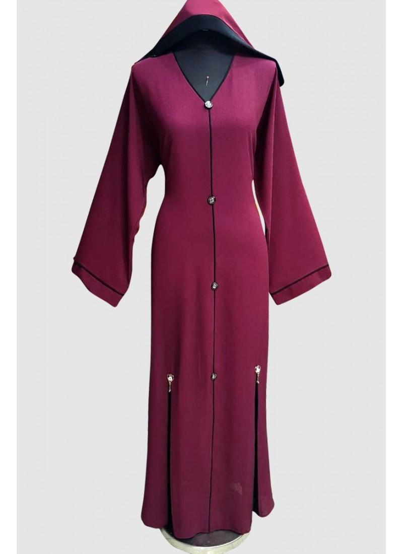 Fancy Modest Plain Abaya